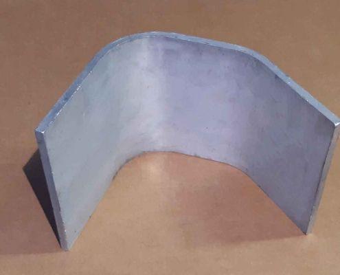 20 Piatto alluminio