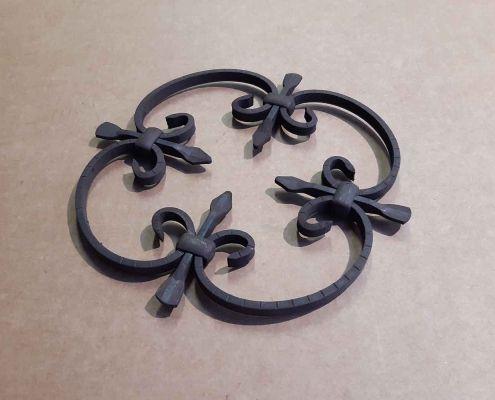 39 Rosone ornamentale Ferro